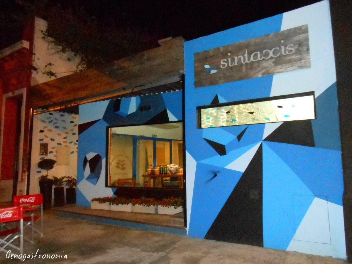 Gastronomía Celiaca: Sintaxis
