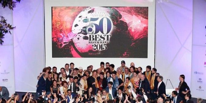 Los 50 mejores restaurantes de Latinoamerica 2015