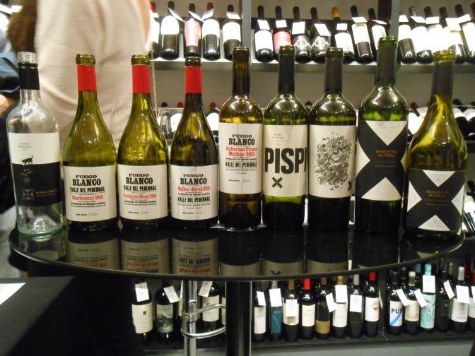 Cata Bodega Fuego Blanco y Mosquita Muerta Wines por Marisel y José Millán