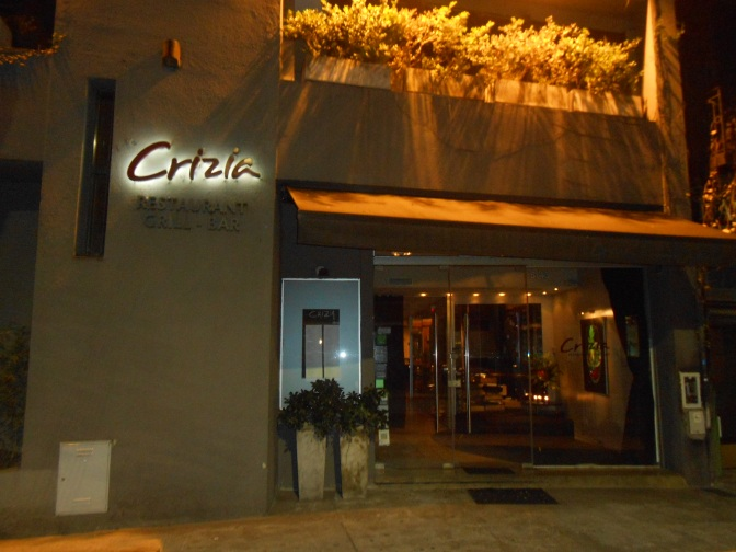 Crítica Culinaria: Crizia